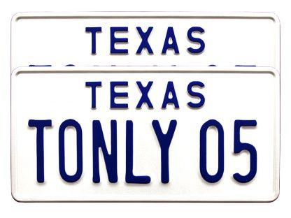 tablice-rejestracyjne-300x150-USA-1-2-komplet