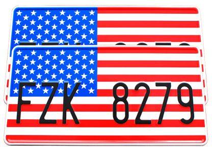 tablice-rejestracyjne-300x150-USA-2-2-komplet