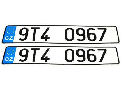 tablice-rejestracyjne-520x110-Czechy-3-komplet