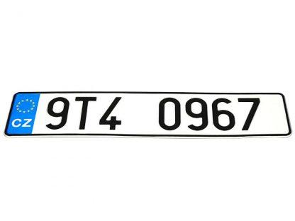 tablice-rejestracyjne-520x110-Czechy-3-pojedyncze