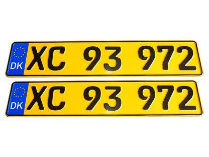 tablice-rejestracyjne-520x110-Dania-4-komplet