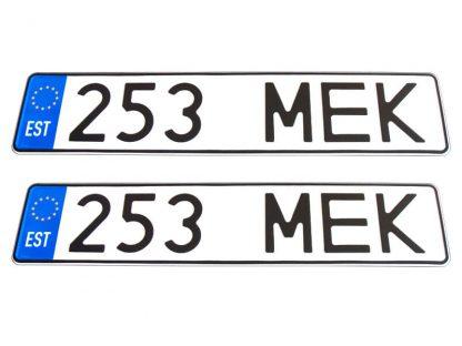 tablice-rejestracyjne-520x110-Estonia-3-komplet
