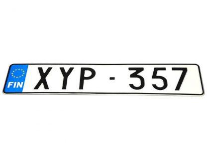 tablice-rejestracyjne-520x110-Finlandia-3-pojedyncze
