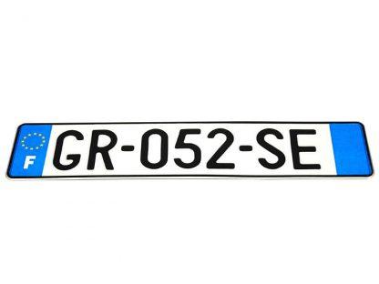 tablice-rejestracyjne-520x110-Francja-3-pojedyncze