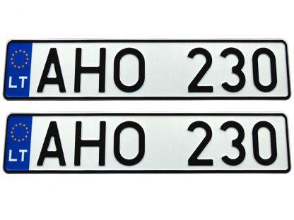 tablice-rejestracyjne-520x110-Litwa-3-komplet