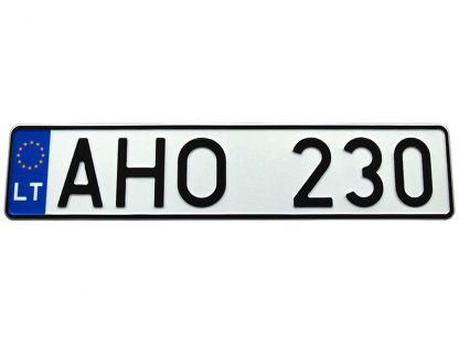 tablice-rejestracyjne-520x110-Litwa-3-pojedyncze