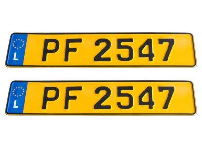 tablice-rejestracyjne-520x110-Luksemburg-3-komplet