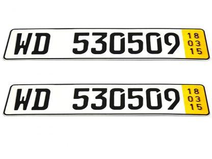tablice-rejestracyjne-520x110-Niemcy-zjazdowa-zolta-3-komplet