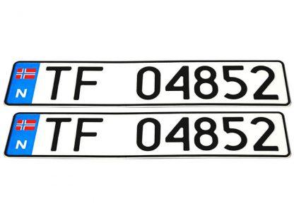 tablice-rejestracyjne-520x110-Norwegia-3-komplet