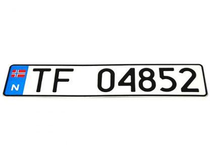 tablice-rejestracyjne-520x110-Norwegia-3-pojedyncze