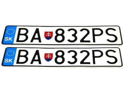 tablice-rejestracyjne-520x110-Slowacja-3-komplet