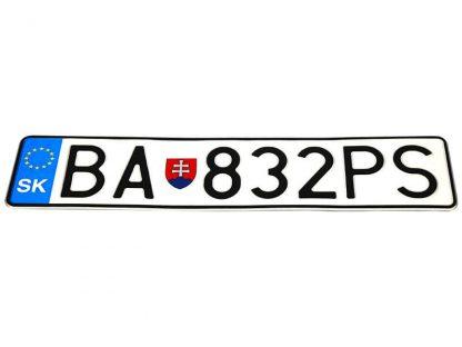 tablice-rejestracyjne-520x110-Slowacja-3-pojedyncze