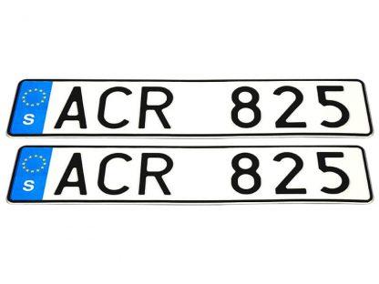 tablice-rejestracyjne-520x110-Szwecja-3-komplet