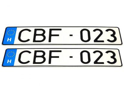 tablice-rejestracyjne-520x110-Wegry-3-komplet